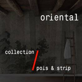 pois & strip / oriental