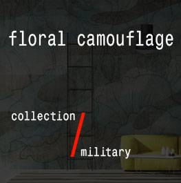 (Italiano) military / floral camouflage