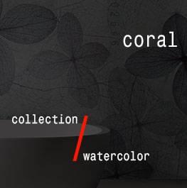 watercolor / coral